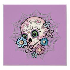 Sweet Sugar Skull Poster