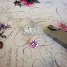 I'm working on a 3 carat, 6 prong pink diamond solitaire ring now. 🌸✨💐💕 Pink Diamonds are the most is the most revered diamond in the world and a treasure like no other. It symbolizes love, romance, creativity and femininity. #picoftheday #pink #pinkdiamond #iloveyou #ilovepink #engagementring #fiance #bride #couple #handmade #heart #loveit #diamondring #pretty #beautiful #wedding #sparkly #bling #lux #gold #sterlingsilver