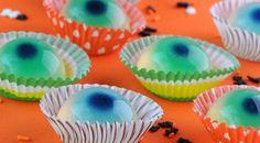 Halloween Food Idea for eyeball jello shots.