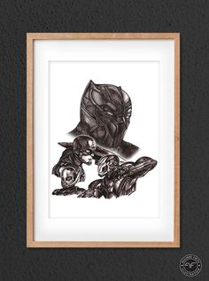 Shop for on Etsy, the place to express your creativity through the buying and selling of handmade and vintage goods. Alien Vs Predator, Captain America Civil War, Fan Art, Home And Deco, Limited Edition Prints, Marvel Comics, At Least, Just For You, Ink