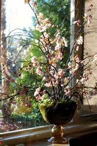 some of our silk arrangements cherry blossoms in a beautiful silk ...