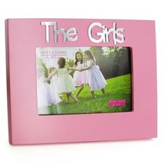 Pink The Girls 6 x 4 Photo Frame  #colored #photoframes