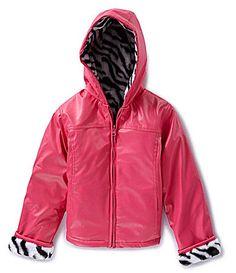 Copper Key 716 Hooded Reversible FauxLeather Jacket #Dillards