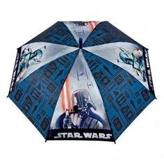 Star Wars Paraguas automático 71 cm - http://comprarparaguas.com/baratos/starwars/star-wars-paraguas-automatico-71-cm/