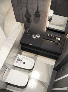 В основе этого проекта – радикальная перепланировка квартиры. Дизайнеры демонтировали почти половину стен для создания единой гостиной зоны, присоединили балкон и продумали ниши для хранения