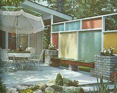 Mid Century Modern Landscape Design Book 1963 Eckbo Church