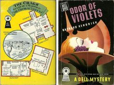 "Baynard Kendrick ""Odor of Violets"" Dell Mapback #128; 1941 Bought 10/9/15"