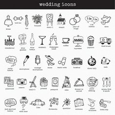 Personalized Wedding Timeline PRINTABLE by FreckledFoxPrints