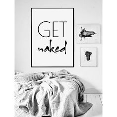 Get Naked Printable Poster  Bathroom Wall Art  Scandinavian by VisualPixie | Etsy