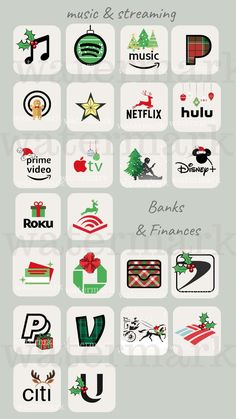 Christmas Apps, Christmas Icons, Etsy Christmas, Iphone App Design, Iphone App Layout, Wallpaper App, Aesthetic Iphone Wallpaper, Wallpapers, Christmas Phone Wallpaper