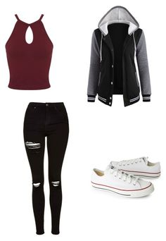"""Untitled #400"" by austynh on Polyvore featuring Topshop, Miss Selfridge and Converse"