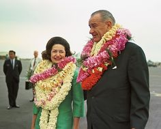President Johnson and Lady Bird @Donna Louise