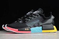 """adidas NMD R1 Boost V2 """"Tokyo"""" FY1182 For Sale Adidas Nmd_r1, Adidas Sneakers, Shoes Sneakers, Nmd R1, Womens Fashion Sneakers, New Shoes, Blue Yellow, Man, Tokyo"""