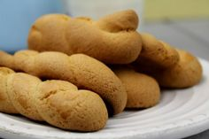 Cookie Recipes, Dessert Recipes, Desserts, Greek Easter, Butter Cookies Recipe, Easter Cookies, Greek Recipes, Food To Make, Sweet Tooth