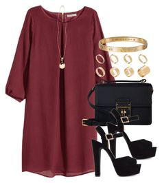"""""""Style #8898"""" by vany-alvarado ❤ liked on Polyvore featuring H&M, Dolce&Gabbana, Steve Madden, ASOS and River Island"""