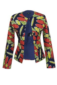 African Tribal Print Jacket