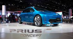 The new Prius C Concept. Toyota making the Prius a whole family of cars rather than just a model.  Check it out!