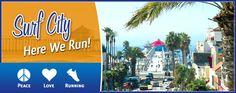 "Half Marathon in Huntington Beach, California.  On my ""someday"" list."