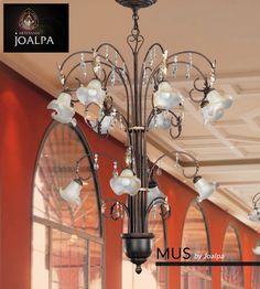 Hoy os presentamos nuestro Modelo MUS, de la Colección Joalpa 2015. Forjamos nuestras lámparas para iluminar tu vida. Si puedes soñarla, podemos fabricarla. #MeGustaJoalpa