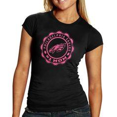 Philadelphia Eagles Women's #1 Mom T-Shirt