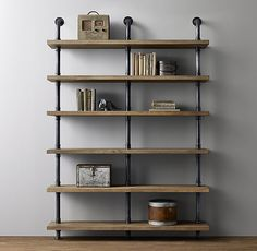 comes in single column as well | Industrial Pipe Wide Shelving | RH B&C line