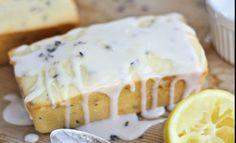 Lemon Lavender Greek Yogurt Pound Cake | Recipes | NoshOnIt