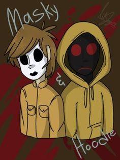 Masky n' Hoodie by LilJay14