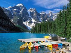 hôtels les plus reculés du monde : Le Moraine Lake Lodge à Banff, province d'Alberta, au Canada