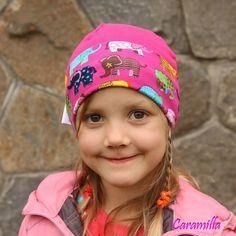 Obyčejná kulatá čepička (fotonávod a střih FREE) | Ekozahrada - Blog Petry Macháčkové / Caramilla