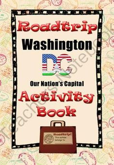 Take a Virtual Roadtrip to Washington, DC! - Election day is soon approaching. Get your kids into the civic mindset with this Washington DC suitcase activity book. .  A GIVEAWAY promotion for Roadtrip Washington DC (Suitcase Activity Book) from TeachingintheSunshine on TeachersNotebook.com (ends on 11-4-2013)