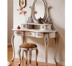 The Valuable Antique Vanity Table