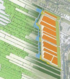 Landschapsherstel met inpassing bedrijventerrein De Slenk, door Vollmer & Partners