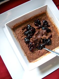 A variety of recipes from decadent desserts to healthy, vegan and vegetarian cuisine. Protein Oatmeal, Chocolate Protein, Chocolate Cherry, High Protein Low Carb, High Protein Recipes, Protein Foods, Oat Bran Recipes, Oatmeal Recipes, Rolled Oats Recipe