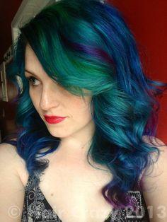 urs -   - -   - Blue (Pravana)   - Hot Hot Pink   - Voodoo Blue