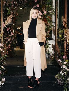 Taylor Schilling Just Found Your New Fall Coat via @WhoWhatWearUK