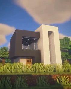 Craft Minecraft, Minecraft Earth, Modern Minecraft Houses, Minecraft Mansion, Minecraft Cottage, Minecraft House Tutorials, Minecraft Plans, Minecraft House Designs, Minecraft Construction