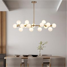 Over 20 of BEST Upcycled Furniture Ideas - Ways to Make Treasure Treasure Out! These ideas are a gre Dining Table Chandelier, Modern Chandelier, Chandelier Lighting, Room Lights, Hanging Lights, Unique Lighting, Lighting Design, Console Table, Ceiling Lamp
