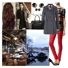 """""""Having dinner with Paul in their favourite restaurant"""" by deborawinter ❤ liked on Polyvore featuring ESCADA, L.K.Bennett, Alex and Ani, Michael Kors, women's clothing, women's fashion, women, female, woman and misses"""