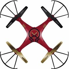 XTREEM QUADFORCE LARGE DRONE WITH ON BOARD COLOR VIDEO CAMERA MICROSD 2.4GHz