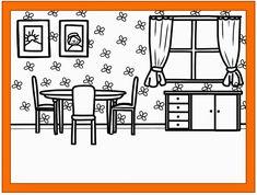 Flashcards At Home Rooms Letztes Jahr Hat Die Liebe JacMo Ein Tolles Materialpaket