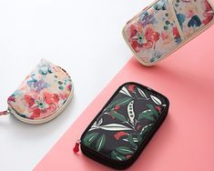 Floral Wallet for Documents - Safi Travelers