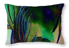 Colorful Melody Throw Pillow for Sale by Faye Anastasopoulou 20 x 14