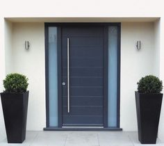 Front Door with Vertical Handle from UrbanFront UK
