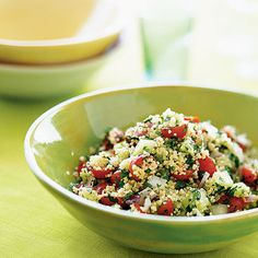 Couscous Tabbouleh by Health Magazine. MyRecipes recommends that you make this Couscous Tabbouleh recipe from Health