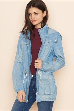 The Denim Military Parka