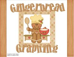 Here's a gingerbread themed set of pages for graphing and ordinal numbers.