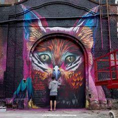 street art Case MaClaim for Galantis Aviary in Frankfurt am Main, Germany
