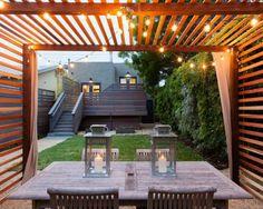 Glas Pergola Markise Platten Überdachte Terrasse Modern Holz