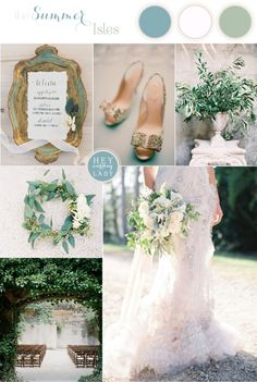 The Summer Isles - Mediterranean Wedding Inspiration in Olive, Patina, and Jade | See More: http://heyweddinglady.com/the-summer-isles-mediterranean-wedding-inspiration-in-olive-patina-and-jade/