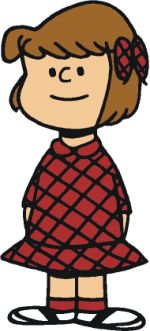 In the early days of the Peanuts comic strip, Patty was one of its major characters. Although she was not named until October 26, 1950, Patty appeared in the very first strip on October 2, 1950, along with Charlie Brown and Shermy. However, since she and Shermy lacked the discerning characteristics of such characters as Lucy, Linus, and Schroeder, they became less prominent as years went by.